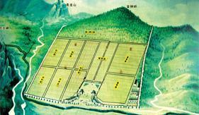 陵园规划图
