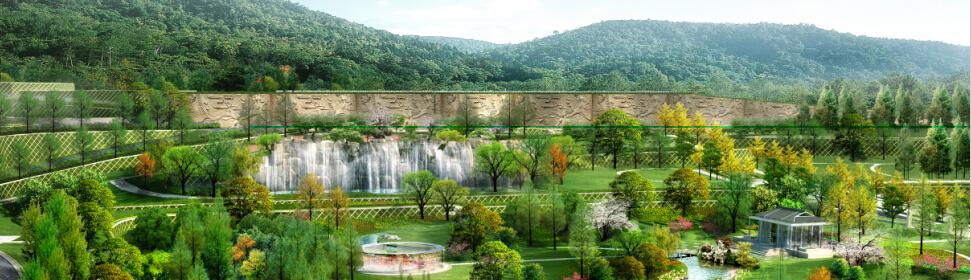 郑州墓地:御泉森林生态园