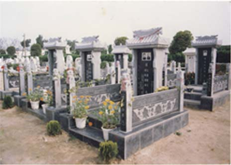 紫荆园墓型