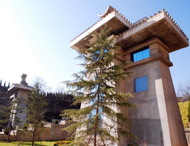 御泉陵园门楼